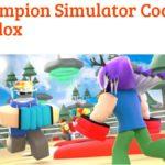 Champion Roblox Simulator New Codes
